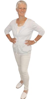 Dora Hochreutener de Mörschwil après avoir perdu du poids avec ParaMediForm