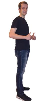 Björn Rissi de St. Gallen après avoir perdu du poids avec ParaMediForm
