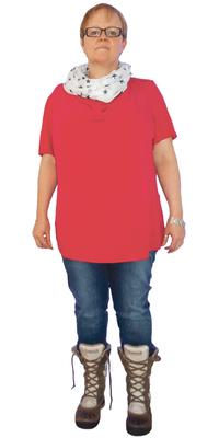 Anita Binks de Gossau SG avant de perdre du poids avec ParaMediForm