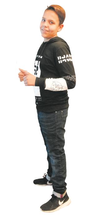 Pero Jagustin de Gossau SG après avoir perdu du poids avec ParaMediForm