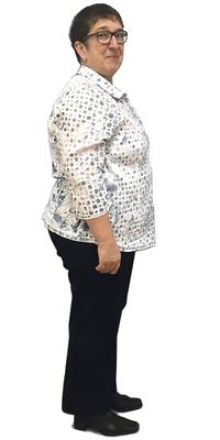 Margrit Fenk de Speicher après avoir perdu du poids avec ParaMediForm
