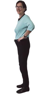 Hanna Schorta de Schocherswil après avoir perdu du poids avec ParaMediForm