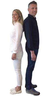 Iris & Valentino Palatini de Steinach après avoir perdu du poids avec ParaMediForm