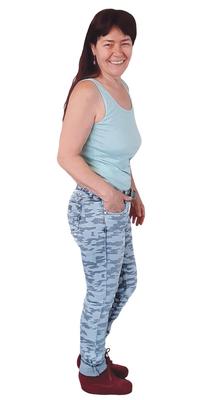 Monika Näf de Dozwil TG après avoir perdu du poids avec ParaMediForm