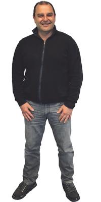 Roland Bühler de Buttisholz avant de perdre du poids avec ParaMediForm