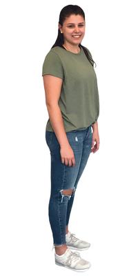 Sarina Zihlmann de Wolhusen après avoir perdu du poids avec ParaMediForm