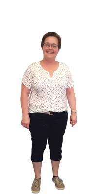 Renata Schmid de Rickenbach avant de perdre du poids avec ParaMediForm