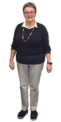 Marlyse Hubacher de Sursee avant de perdre du poids avec ParaMediForm