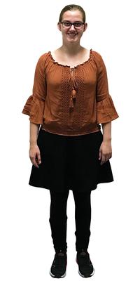 Salome Brunner de Nottwil avant de perdre du poids avec ParaMediForm