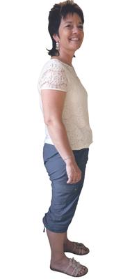 Monika Strub aus Ramlinsburg vor dem Abnehmen mit ParaMediForm