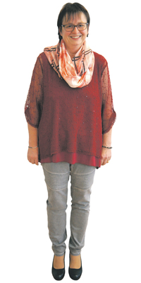 Barbara Minder de Hägendorf après avoir perdu du poids avec ParaMediForm