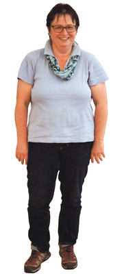 Barbara Minder de Hägendorf avant de perdre du poids avec ParaMediForm