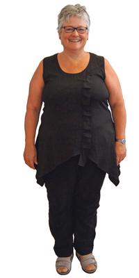 Anita Malik de Oberdorf avant de perdre du poids avec ParaMediForm