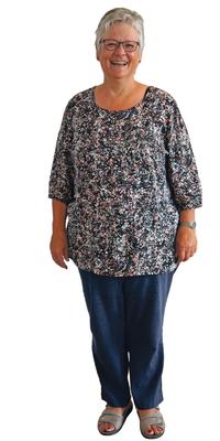 Anita Malik de Oberdorf après avoir perdu du poids avec ParaMediForm