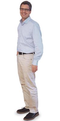 René Feer de Biberist après avoir perdu du poids avec ParaMediForm