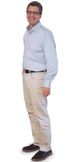 René Feer aus Biberist nach dem Abnehmen mit ParaMediForm