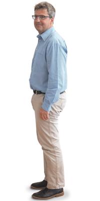 René Feer de Biberist avant de perdre du poids avec ParaMediForm