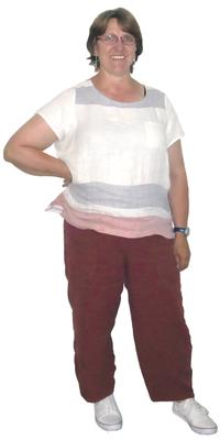 Rita Eberli de Tägerwilen avant de perdre du poids avec ParaMediForm