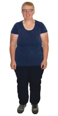 Susanne Häni de Fauenfeld avant de perdre du poids avec ParaMediForm