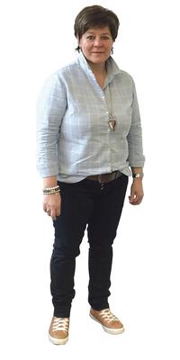 Ruth Christen aus Dallenwil vor dem Abnehmen mit ParaMediForm