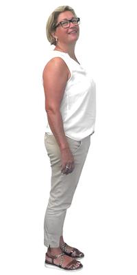 Sibylle Hofer aus Merlischachen nach dem Abnehmen mit ParaMediForm