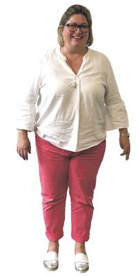 Sibylle Hofer aus Merlischachen vor dem Abnehmen mit ParaMediForm