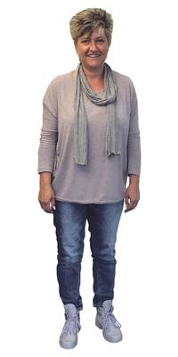Ulla Harttig aus Beckenried vor dem Abnehmen mit ParaMediForm