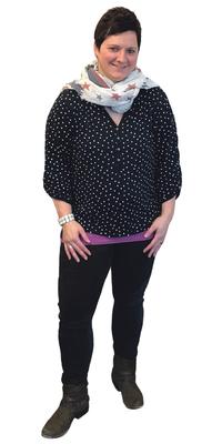 Monika von Ah aus Giswil vor dem Abnehmen mit ParaMediForm