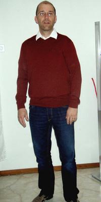 Thomas Aeschlimann de Rüderswil après avoir perdu du poids avec ParaMediForm