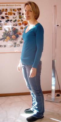 Sandra Scheidegger de Rüderswil après avoir perdu du poids avec ParaMediForm