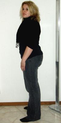 Nicole Hofer de Zollbrück avant de perdre du poids avec ParaMediForm