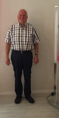 Josef Scherer de Schüpfheim après avoir perdu du poids avec ParaMediForm