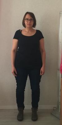 Christa Roth  de Trubschachen avant de perdre du poids avec ParaMediForm