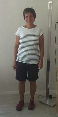 Rebekka Pfister de Flühli après avoir perdu du poids avec ParaMediForm
