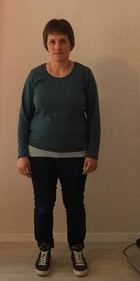 Rebekka Pfister de Flühli avant de perdre du poids avec ParaMediForm