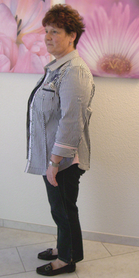 PR-Bericht von Vreni Aeppli de Aarau avant de perdre du poids avec ParaMediForm