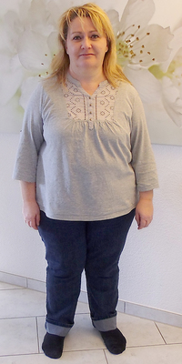 PR-Bericht von Doris Vogel de Teufenthal avant de perdre du poids avec ParaMediForm