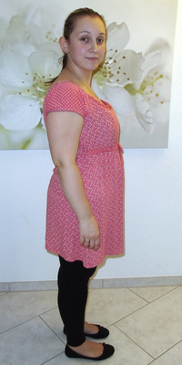Daniela Djunisijevic de Oberentfelden avant de perdre du poids avec ParaMediForm
