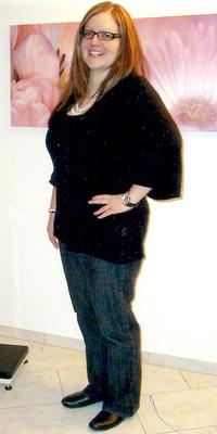 PR-Bericht von Stefanie  Blank aus Gränichen vor dem Abnehmen mit ParaMediForm