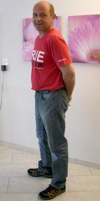 Stefan Sandmeier aus Aarau nach dem Abnehmen mit ParaMediForm