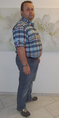 Michael Löffler aus Gränichen vor dem Abnehmen mit ParaMediForm