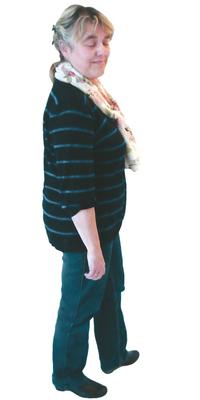 PR-Bericht von Anna Hunziker de Biberstein avant de perdre du poids avec ParaMediForm