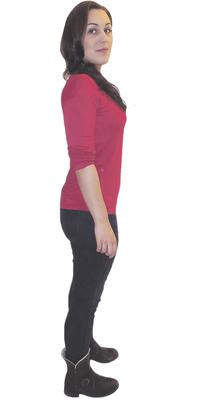 Linda Lüthy de Erlinsbach après avoir perdu du poids avec ParaMediForm