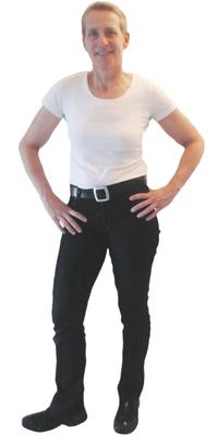 Inge Schwerzmann de Aarau après avoir perdu du poids avec ParaMediForm