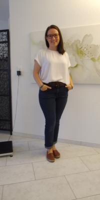 Evelyne  von Wyl de Gipf-Oberfrick après avoir perdu du poids avec ParaMediForm