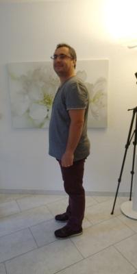 Esmir Ajrovski aus Wölflinswil vor dem Abnehmen mit ParaMediForm