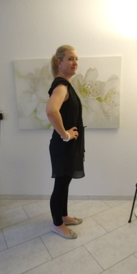 Ursina Müller aus Rombach vor dem Abnehmen mit ParaMediForm
