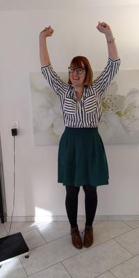 Anita Stadelmann de Däniken après avoir perdu du poids avec ParaMediForm