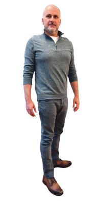 Ralph Gerber aus Mont-Tramelan nach dem Abnehmen mit ParaMediForm