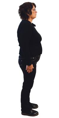 Helga Krekeler aus Biel BE vor dem Abnehmen mit ParaMediForm